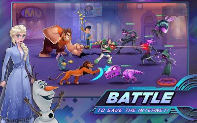 Disney Heroes: Battle Mode Image 2
