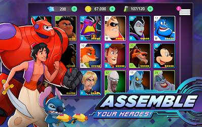 Disney Heroes: Battle Mode Image 3
