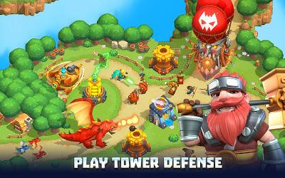 Wild Sky TD: Tower Defense Image 1