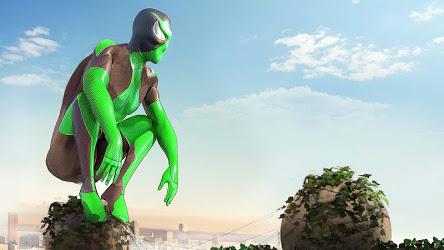 Rope Frog Ninja Hero - Strange Gangster Vegas Image 3