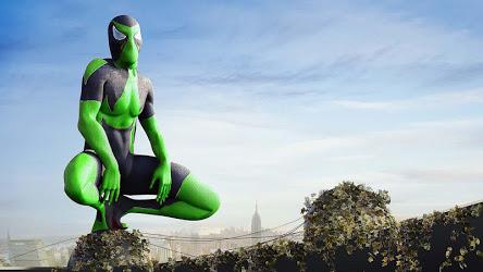 Rope Frog Ninja Hero - Strange Gangster Vegas Image 4