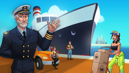 Transit King Tycoon - Seaport and Trucks Image 1