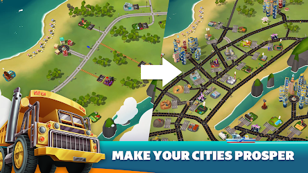 Transit King Tycoon - Seaport and Trucks Image 2