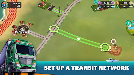 Transit King Tycoon - Seaport and Trucks Image 4